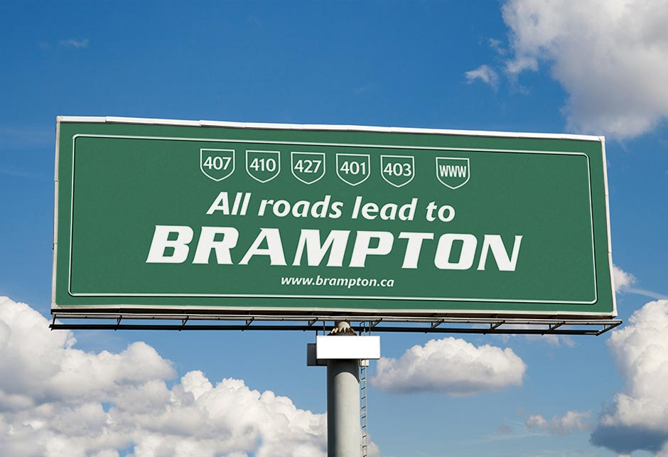 All Roads Lead to Brampton