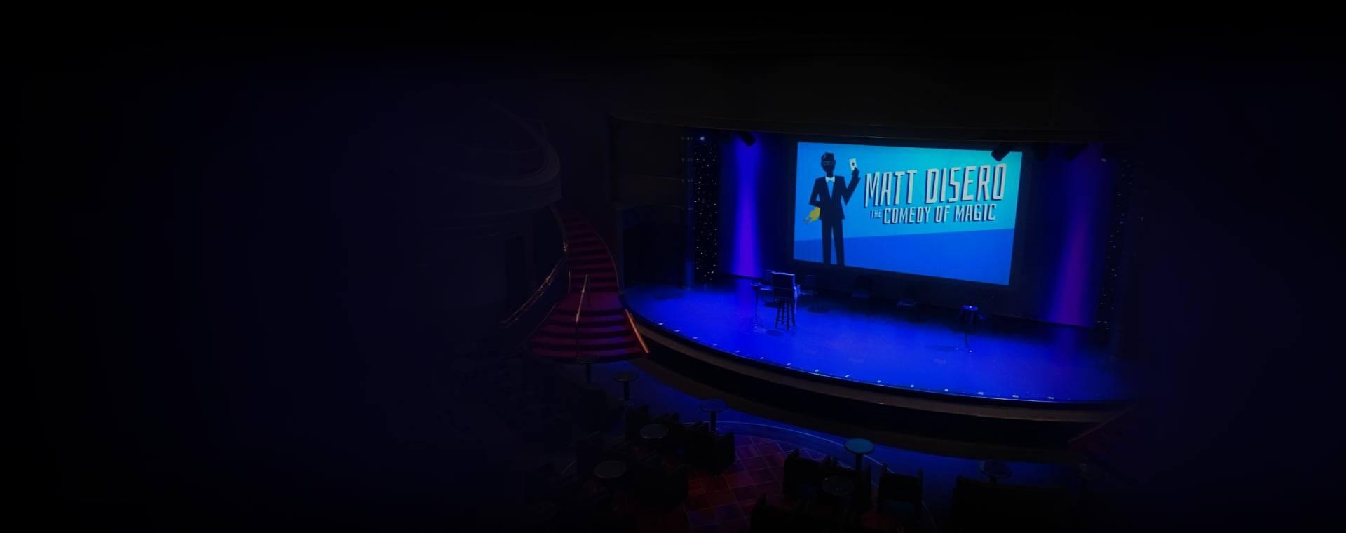 Comedy and Magic combine for Toronto based cruise ship magician Matt Disero